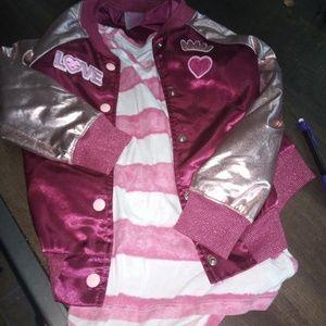 Bundle one jacket one shirt two pants very nice